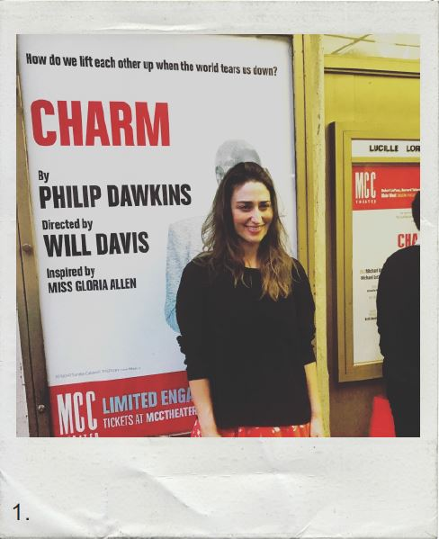 Sara Bareilles attends MCC Theater's opening night of Charm
