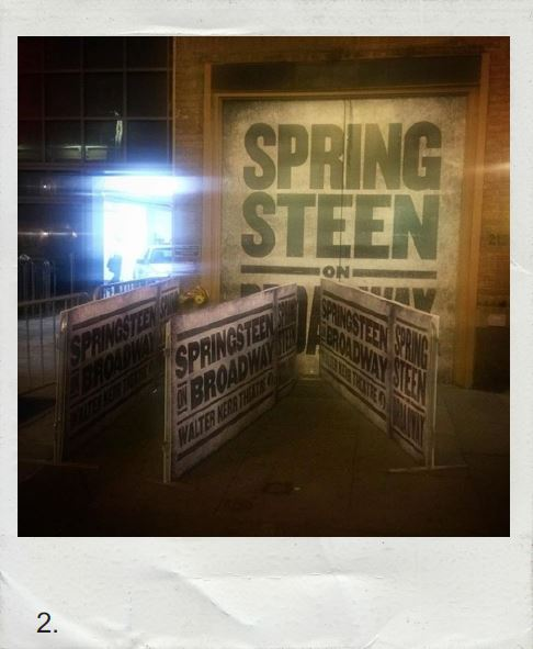 SPRINGSTEEN opens on Broadway!