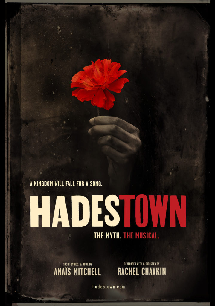 Image result for hadestown broadway poster