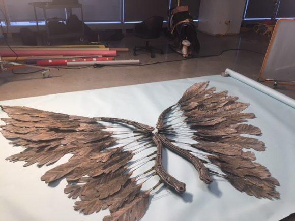 The Angel Wings!