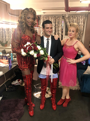 Mark Ballas dances his way into Kinky Boots!