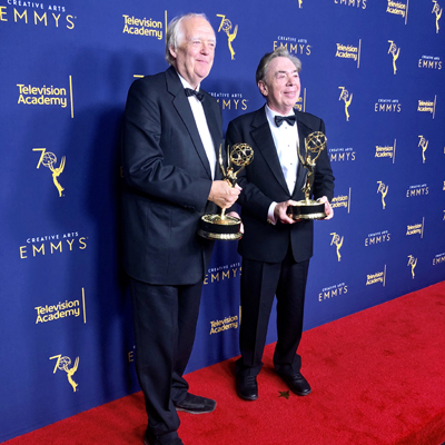Andrew Lloyd Webber and Tim Rice achieve EGOT status!