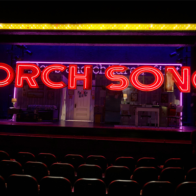 "#TheTorchisLit at ""Harvey Fierstein's Torch Song"". The show had it's final dress rehearsal this past week, and has started previews!"