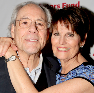 """Robert Klein and Lucie Arnaz after reunion in """"They're Playing Our Song"""" 40th Anniversary Concert"""