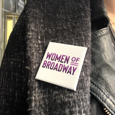 International Women's Day on Broadway. Who run the (Broadway) world? GIRLS!