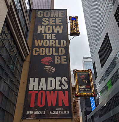 """""""Hadestown"""" first preview at the Walter Kerr Theatre"""