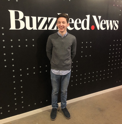 "Andrew Barth Feldman stopped by the BuzzFeed offices to chat about his role in the smash-hit ""Dear Evan Hansen"""