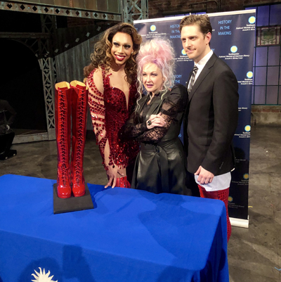"""""""Kinky Boots"""" donates props to Smithsonian's National Museum of American History"""