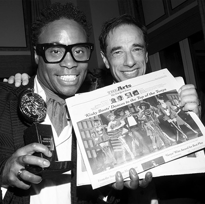 """""""Kinky Boots"""" Memories: Celebrating Tony wins at the Carlyle"""