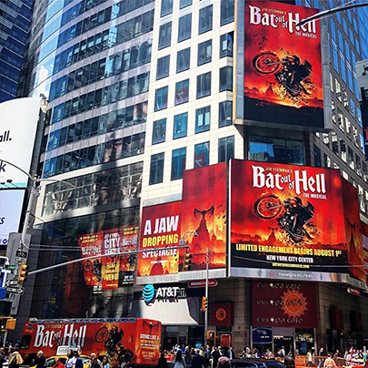 "Jim Steinman's ""Bat Out Of Hell"" taking over NYC!"