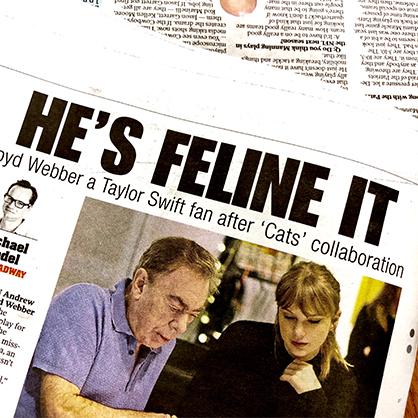 """""""He's FELINE it!"""""""