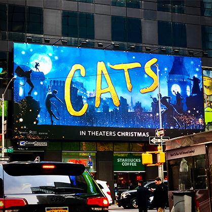 """CATS"" takes over!"