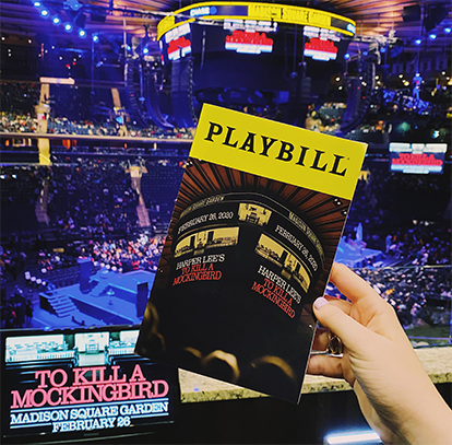 """To Kill A Mockingbird"" at MSG"