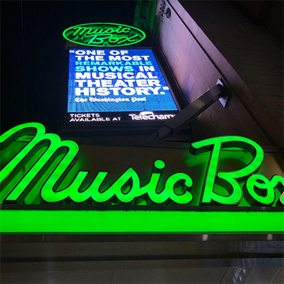 Back at the Music Box…