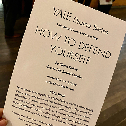 13th Annual Yale Drama Series Prize