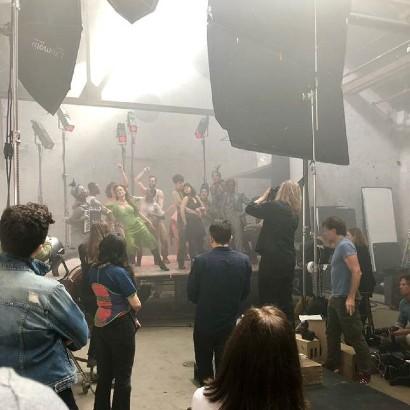 Never-before-seen Hadestown Vogue shoot
