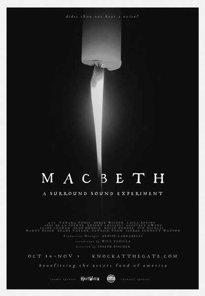 Macbeth: A Surround Sound Experiment